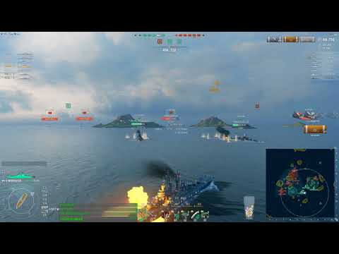 World of Warships - Worcester in RANKED