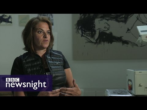 My Decision: Tracey Emin on why she's voting to 'Remain' in EU - BBC Newsnight
