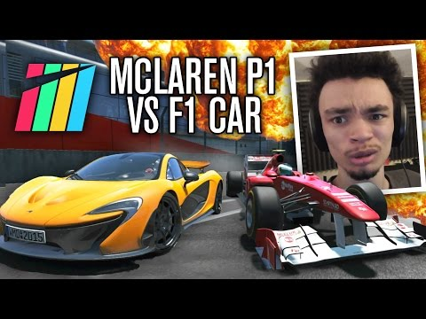 Project CARS | MCLAREN P1 VS F1 CAR?!