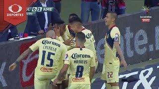 Gol de Andrés Ibargüen | Chivas 0 - 2 América | Clausura 2019 - Jornada 11 | Televisa Deportes