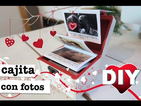 Cajita de fotos pop up regalo perfecto para d a san for Cajas personalizadas con fotos