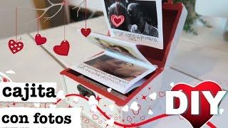 CAJITA DE FOTOS POP UP | REGALO PERFECTO PARA DÍA SAN VALENTÍN | DÍA DEL AMOR