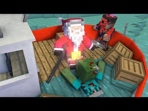 Monster School: Xmas Apocalypse - Minecraft Animation