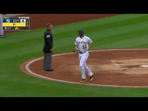 NYY@PIT: McCutchen drives in Taillon with a sac fly