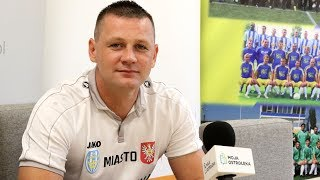 Trener Marcin Truszkowski o meczu z Drukarzem Warszawa