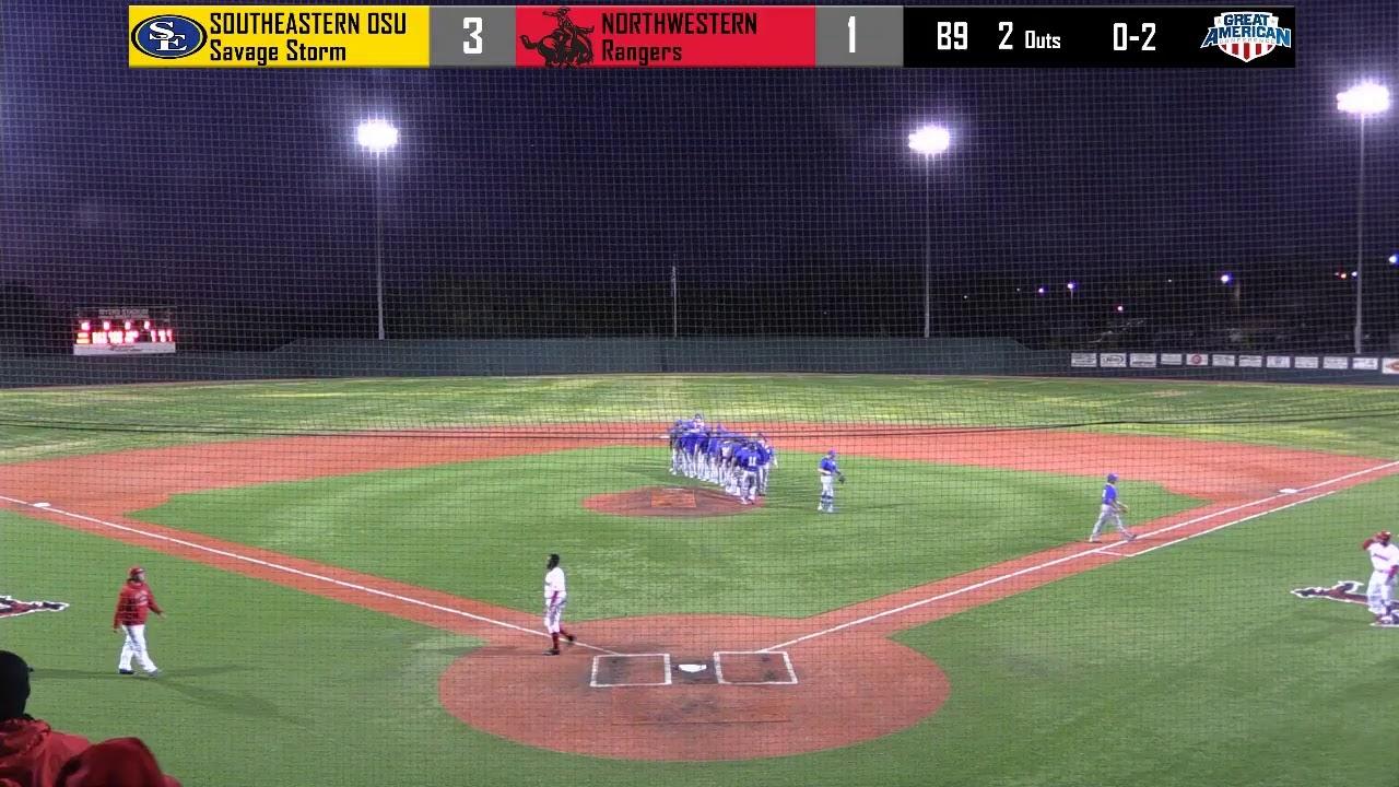 Southeastern Oklahoma State University >> Northwestern Oklahoma State University Baseball Vs