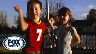 Kids reenact Richard Sherman