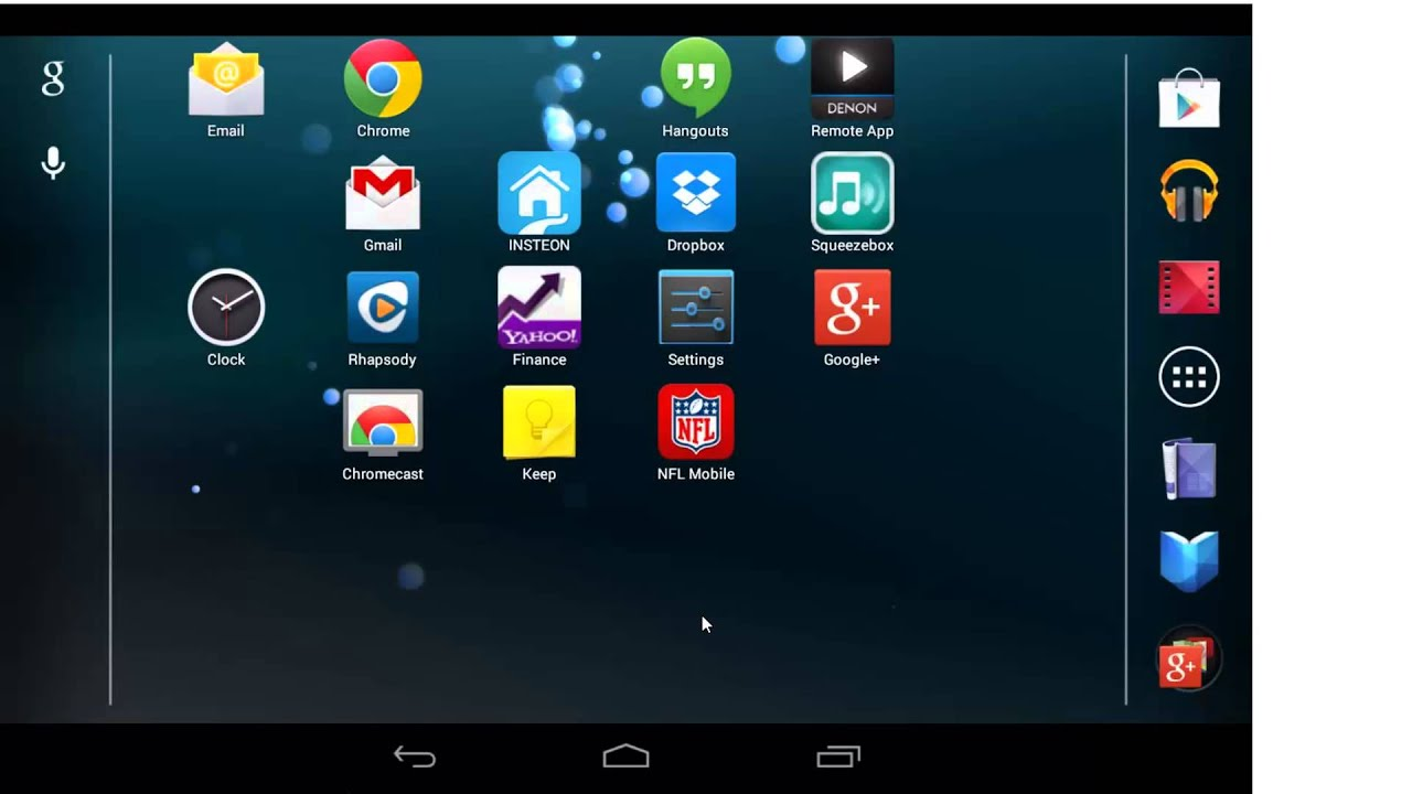 How to change the background on your google nexus tablet youtube how to change the background on your google nexus tablet voltagebd Choice Image