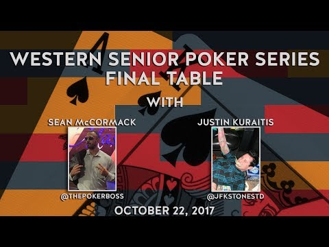 WSPS Championship Final Table, Special Guest Sean McCormack Oct 22, 2017