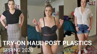 Clothing Try-On Haul * Post-WLS & Excess Skin Removal * Spring 2020 *