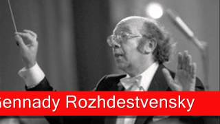 Gennady Rozhdestvensky: Shostakovich - Symphony No. 1 in F minor, Opus 10(, 2013-04-09T11:39:17.000Z)