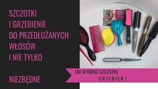 PRZYDATNE Szczotki i grzebienie ⭐️ co wybrać?czym czesać i układać włosy przedłużane i nie tylko