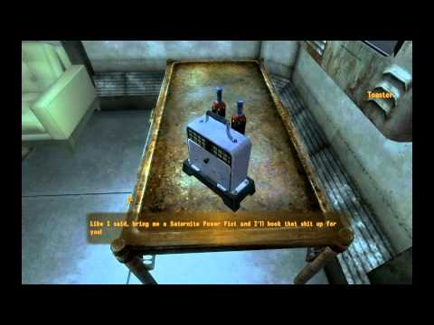 Fallout New Vegas: Old World Blues  Toaster