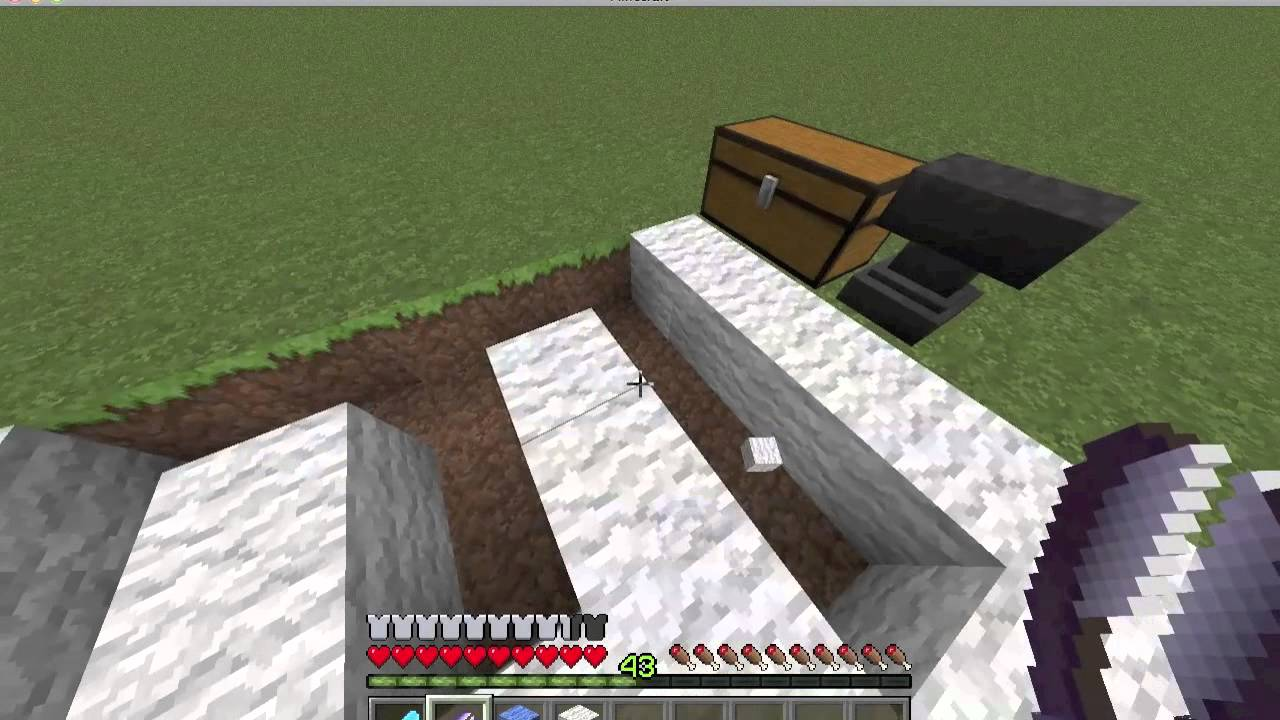 Minecraft how to build a basketball court youtube for How to build basketball court