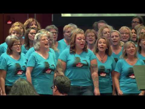 Cool Choir Man in the Mirror FLASHMOB