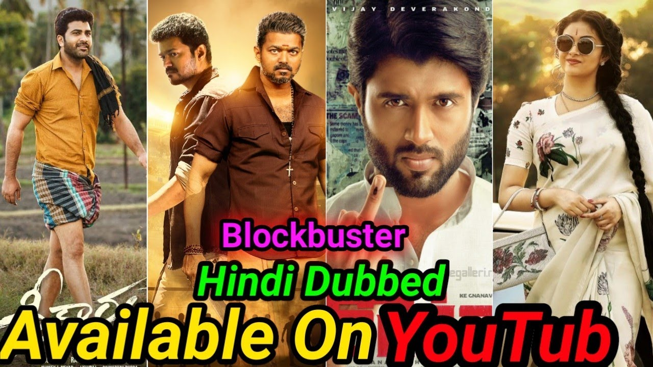 Top 10 Blockbuster New South Hindi Dubbed Movies Available On YouTube Bigil.