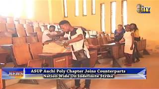 ASUP Auchi Polytechnic Chapt. Joins Counterparts Nationwide On Indefinite Strike