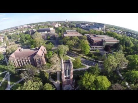 Drone Video of Michigan State University by John McGraw Photography