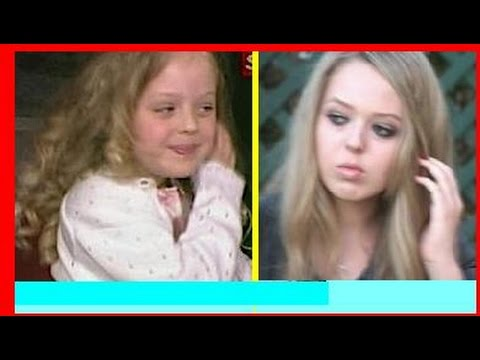 Then & Now: TIFFANY TRUMP grows up