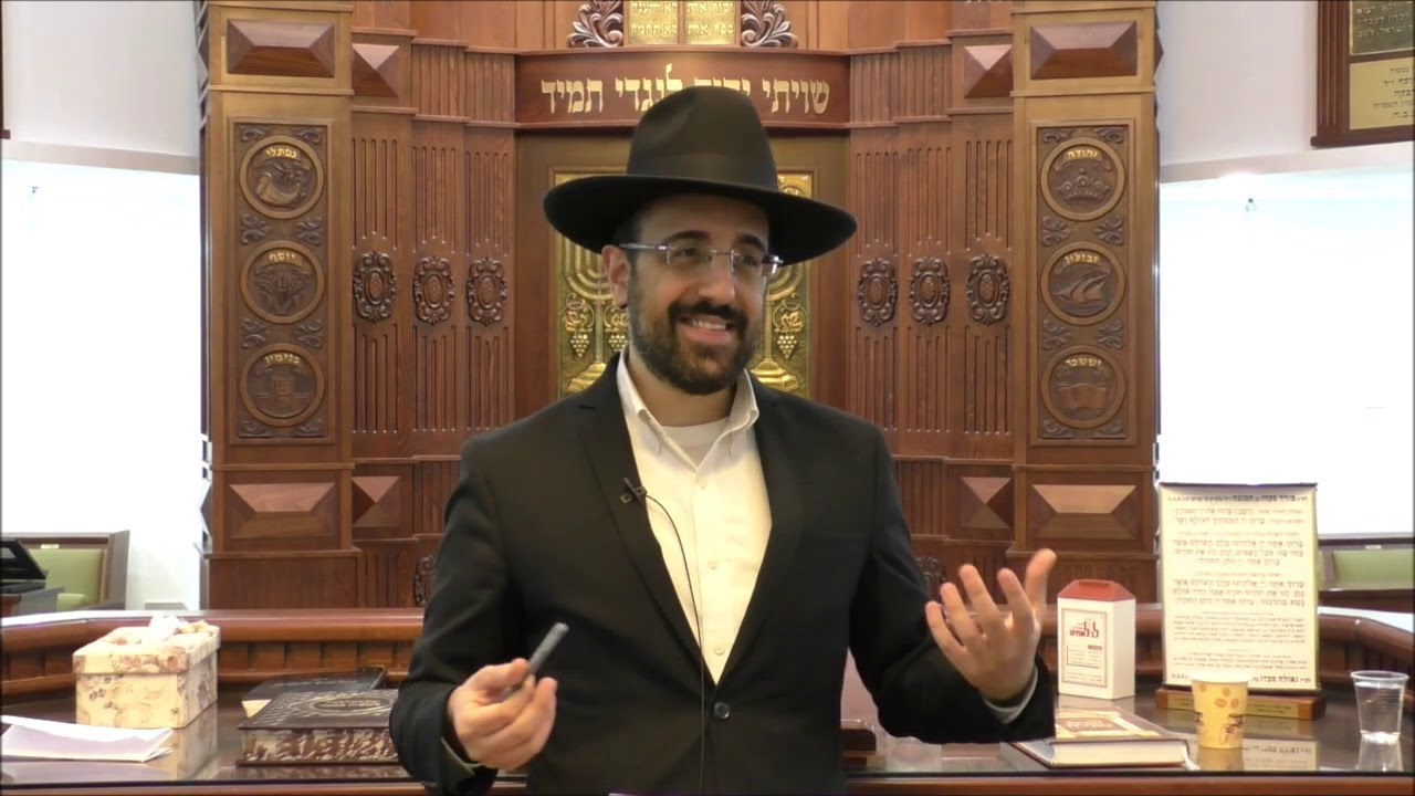 הרב מאיר אליהו  - תחפושות בפורים   משכן יהודה