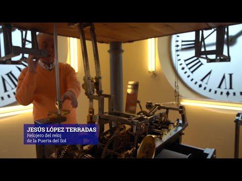 ¿Cómo funciona el reloj de la Puerta del Sol?