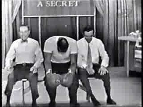 Ben Gazzara,Whitey Ford,Joe Louis on 'I've Got A Secret'