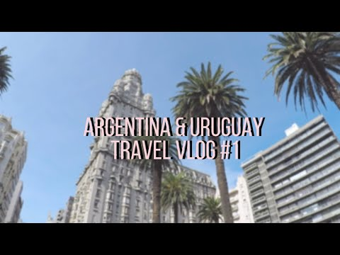 Montevideo Is A Ghost Town? // Argentina Travel Vlog Part 1