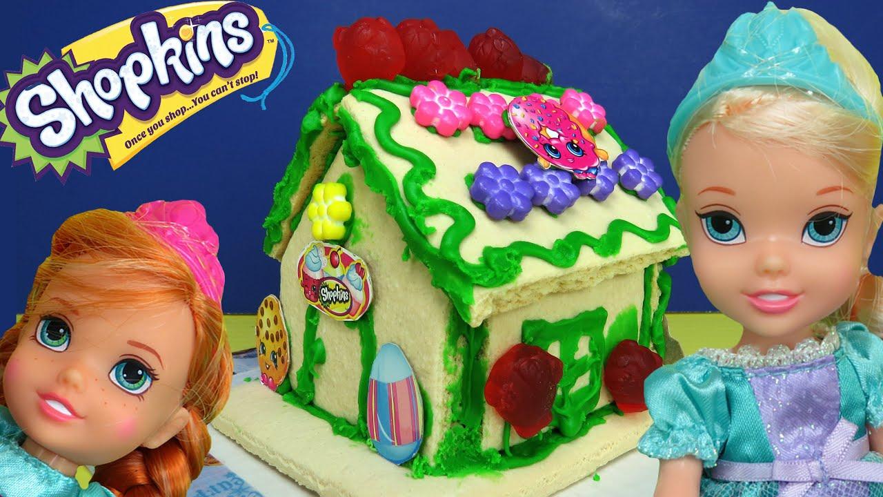 Shopkins Vanilla House Elsa Amp Anna Toddlers Build