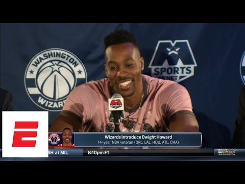 FULL Dwight Howard's jokefilled  press conference: I'm 'putting the cape back on'  ESPN