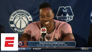 [FULL] Dwight Howard's joke-filled intro press conference: I'm 'putting the cape back on' | ESPN