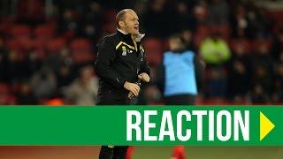 Repeat youtube video Southampton 1-0 Norwich City: Alex Neil Reaction