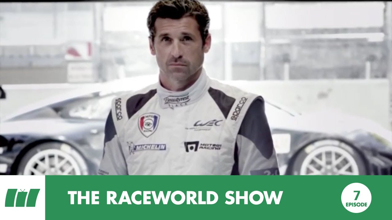 Patrick Dempsey Porsche Caterham F1 Team Thierry Neuville 2014 Top3trending Ep7