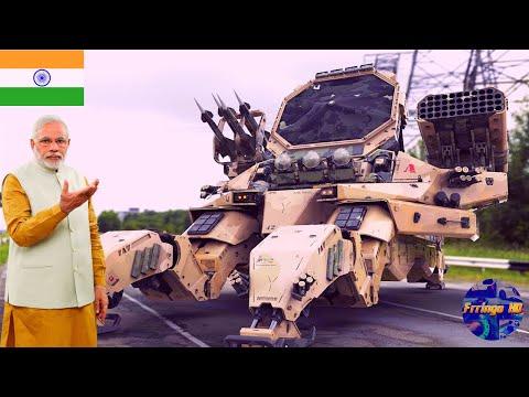 भारत का सबसे खतरनाक Military Robot | 5 Modern Military Robots And UGV's