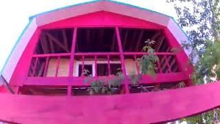Построить дешевый дом своими руками часть 15(Строим дом., 2016-06-03T02:54:04.000Z)