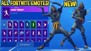 *NEW* CLOAKED STAR SKIN SHOWCASE WITH ALL FORTNITE DANCES & EMOTES!!