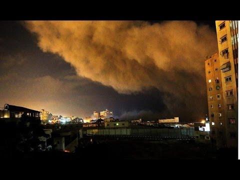 Hamas lanza misiles contra Tel Aviv y Jerusalén mientras Israel ataca en Gaza
