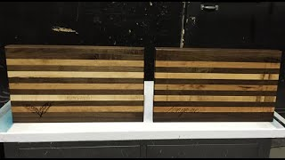 Custom Edge Grain Cutting Boards Part 1