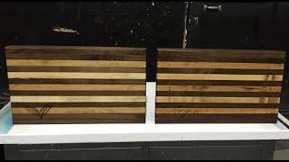 Custom Edge Grain Cutting Boards Part 1