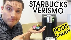 Verismo Pods Cheap! Do CBTL Pods Work in Starbucks Verismo?