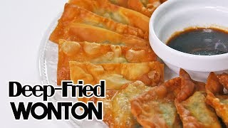 My Mother's Easy Deep-Fried Wonton Recipe