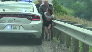 Download Ride-along with Ohio State Highway Patrol involves high speed pursuit Mp3 and Videos