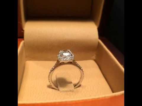 Engagement Ring Diamond Square