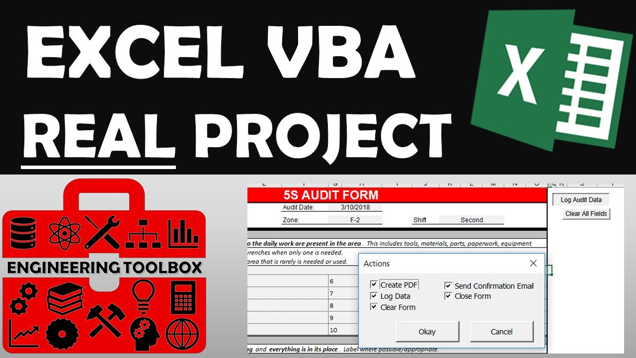 Exploring Excel VBA with Real Project Example