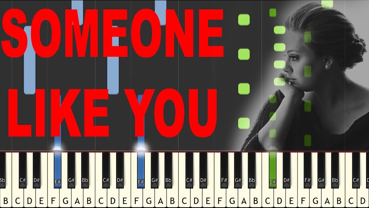 Someone like you adele instrumental piano tutorial synthesia someone like you adele instrumental piano tutorial synthesia baditri Image collections