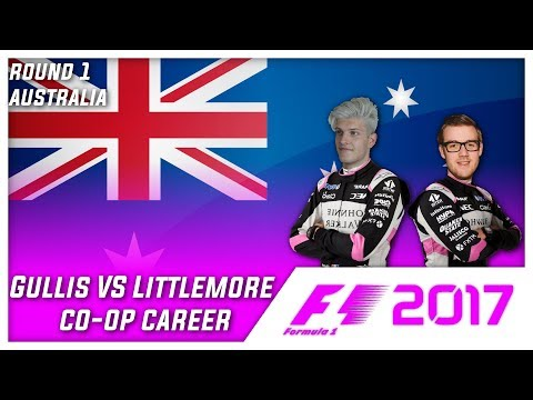 F1 2017 CO-OP CAREER W/ RYANL83 l PART 1 AUSTRALIA!! ALONSO'S INSIDE WEHRLEIN!!!!