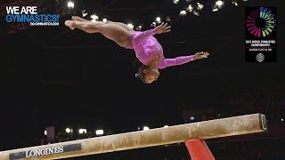 BILES Simone (USA) - 2015 Artistic Worlds - Qualifications Balance Beam
