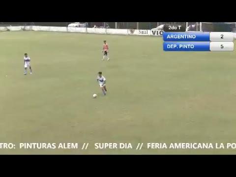FUTBOL: Argentino de Lincoln vs Deportivo Pinto