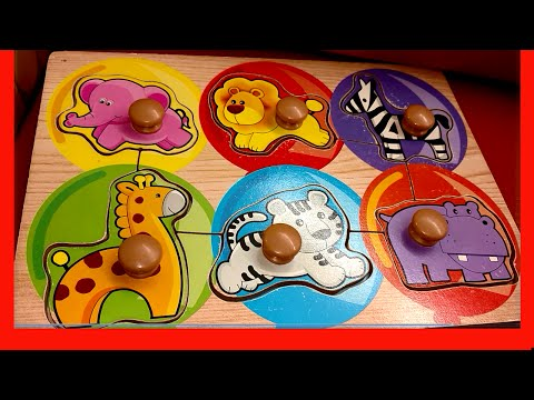 lets-learn-sounds-and-names-zoo-safari-animals-with-puzzle-melissa-&-doug-wooden-puzzle-kids-z-fun
