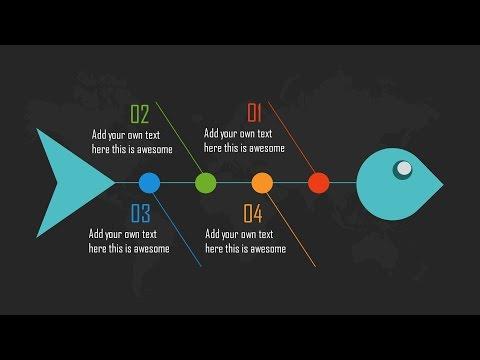 PowerPoint Slide Design Challenge (Infographic Fishbone)