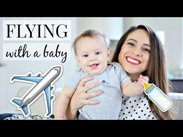 10 Tips For Flying With A Baby! My Traveling Hacks & Tips   Justine Marie